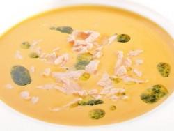 Крем-суп з норвезького лосося з доставкою додому