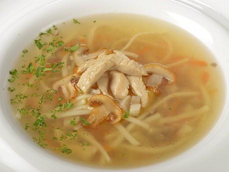 Суп з курочкою, локшиною і грибами з доставкою додому